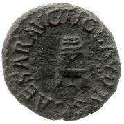 Quadrans - Claudius (PON M TR P IMP COS II) – obverse