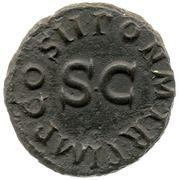 Quadrans - Claudius (PON M TR P IMP COS II) – reverse