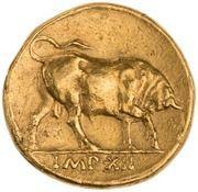 Aureus - Augustus (IMP XII) -  reverse