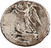 Quinarius - Augustus (Victory) -  reverse