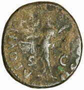 As - Vespasian (AEQVITAS AVGVSTI S C; Aequitas) -  obverse