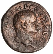 As - Titus (AEQVITAS AVGVST S C; Aequitas) -  obverse