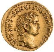 Aureus - Vespasian and Titus (T FLAVI VESPASIANVS CAESAR) -  obverse