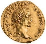 Aureus - Vespasian and Titus (T FLAVI VESPASIANVS CAESAR) -  reverse
