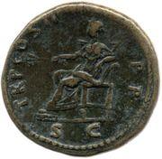 Sestertius - Trajan (TR P COS II P P S C; Pax) -  reverse