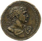 Sestertius - Trajan (SENATVS POPVLVSQVE ROMANVS S C; Felicitas) -  obverse