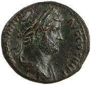 Dupondius or As - Hadrian (FELICITAS AVG S C; Felicitas)