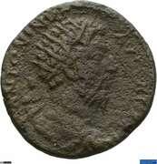 Dupondius - Marcus Aurelius (SALVTI AVG COS III S C; Salus) -  obverse