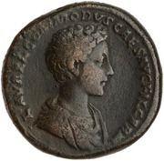 Sestertius - Commodus (PRINC IVVENT S C)