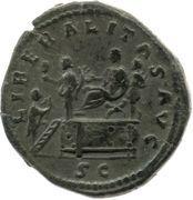 As - Commodus (PRINC IVVENT S C) -  obverse