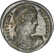 Nummus - Constantinus I (GLORIA EXERCITUS, Nicomedia mint) – obverse