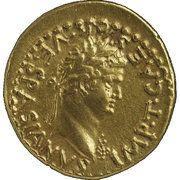 Aureus - Vespasianus (CONCORDIA AVG; Judaea mint) – obverse