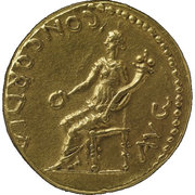 Aureus - Vespasianus (CONCORDIA AVG; Judaea mint) – reverse