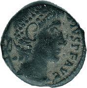 Follis - Constantius II (VOT XX MVLT XXX; Antioch) – obverse