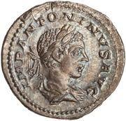 Denarius - Elagabalus (FIDES MILITVM; Fides) -  obverse