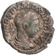 Denarius - Severus Alexander (P M TR P COS; Mars) -  obverse