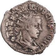 Antoninianus - Herennius Etruscus as Caesar (SPES PVBLICA; Spes) -  obverse