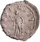 Antoninianus - Herennius Etruscus as Caesar (SPES PVBLICA; Spes) -  reverse