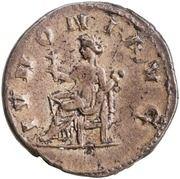 Antoninianus - Cornelia Supera (IVNONI AVG; Juno) -  reverse