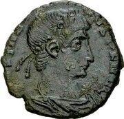 Follis - Constantius II (VICTORIAE D D AVGGQ NN; Rome) – obverse