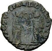 Follis - Constantius II (VICTORIAE D D AVGGQ NN; Rome) – reverse