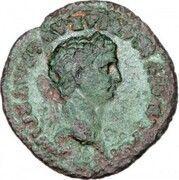 Quadrans - Claudius (ROM ET AVG) – obverse
