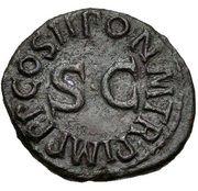 Quadrans - Claudius (PON M TR P IMP P P COS II) – reverse