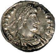 "Reduced Siliqua - Julian II ""the Apostate"" (Votive), Trier mint -  obverse"