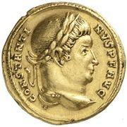 Solidus - Constantinus – obverse