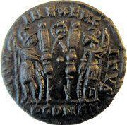 Follis - Constantinus I (GLORIA EXERCITVS; Arles) – reverse