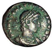 Nummus - Constantius II (GLORIA EXERCITVS; Constantinople mint) – obverse