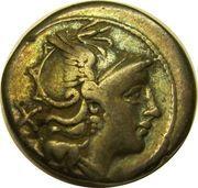 Denarius (Anonymous; ROMA) – obverse