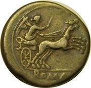 Denarius (Anonymous; ROMA) – reverse