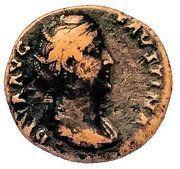 Dupondius - Faustina I (PIETAS AVG/S-C) – obverse