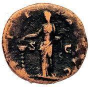 Dupondius - Faustina I (PIETAS AVG/S-C) – reverse
