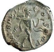 Denarius - Severus Alexander (PM TRP VII COS II PP; Mars) – reverse