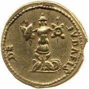 Aureus - Vespasianus (DE IVDAEIS; Lugdunum mint) – reverse