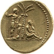 Aureus - Vespasianus (Rome mint) – reverse