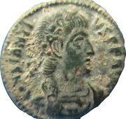 Nummus - Constantius II (VICTORIAE DD AVGG Q NN; Siscia mint) – obverse
