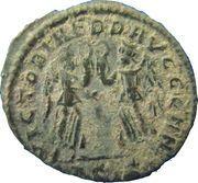 Nummus - Constantius II (VICTORIAE DD AVGG Q NN; Siscia mint) – reverse