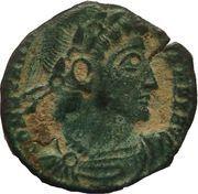 Follis - Constantinus II (GLORIA EXERCITVS; Siscia mint) – obverse