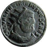 Fraction - Galerius (CONCORDIA MILITVM; Heraclea mint) – obverse
