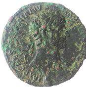 As - Hadrianus (PONT MAX TR POT COS III SC; Victory) – obverse