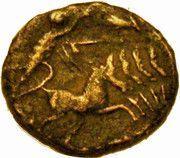 Nummus - Constantinus I (DV CONSTANTINVS PT AVGG; Quadriga; Cyzicus mint) – reverse