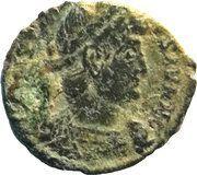 Nummus - Constantinus II (GLORIA EXERCITVS; Trier mint) – obverse