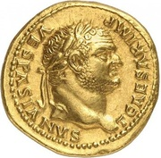 Aureus - Titus (COS VI; Strike as Caesar under Vespasianus; Rome) – obverse