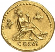 Aureus - Titus (COS VI; Strike as Caesar under Vespasianus; Rome) – reverse
