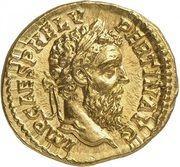 Aureus - Pertinax (LAETITIA TEMPOR COS II; Rome) – obverse