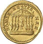 Aureus - Caracalla (ROMAE AETERNAE; Rome) – reverse
