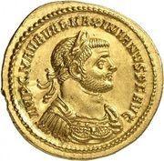 Aureus - Maximianus Herculius (IOVI CONSERVAT AVGG; Rome) – obverse